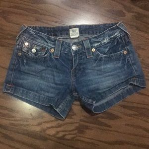 True Religion Jessica Jean short